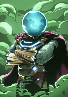 """Mysterio"" fan art by Leandro Raimundo & DC Marvel Comics Art, Marvel Comic Universe, Marvel Heroes, Marvel Avengers, Mysterio Spiderman, Mysterio Marvel, Amazing Spiderman, Marvel Comic Character, Marvel Characters"