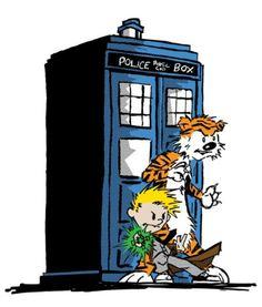 Calvin & Hobbes meets Doctor Who