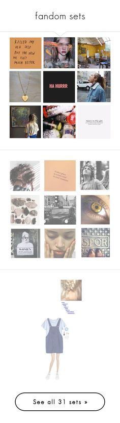 """fandom sets"" by chaoticcamryn ❤ liked on Polyvore featuring art, La Perla, H&M, adidas, fandom, fandoms, bubbles, PowerpuffGirls, Levi's and Madewell"