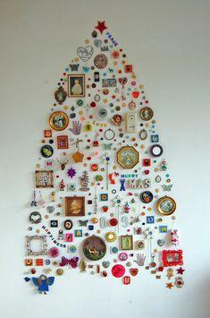 Great interpretation of the Christmas tree