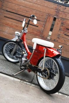 Visit the post for more. Old School Motorcycles, Honda Motorcycles, Bobber Motorcycle, Motorcycle Style, C90 Honda, Electric Moped, Cafe Racer Honda, Motosport, Motor Scooters