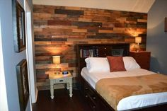Diy bedroom ideas with pallets pallet room wood pallet wall ideas pallet furniture diy bedroom ideas . diy bedroom ideas with pallets ultra cool headboard Pallet Wall Bedroom, Pallet Accent Wall, Pallet Room, Diy Pallet Wall, Wood Pallet Art, Pallet Walls, Diy Pallet Furniture, Wood Bedroom, Wood Pallets