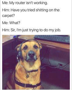 Dog Tech Support