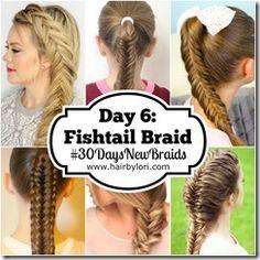 Day 6 - Fishtail Braid
