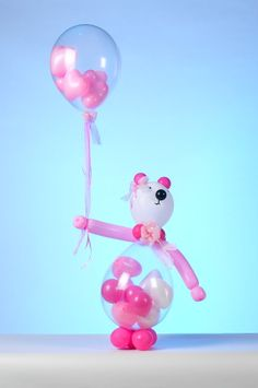 49 Amazing Valentine Decoration Ideas Using Balloon - Decoralink Balloon Inside Balloon, Balloon Gift, Custom Balloons, Helium Balloons, Baby Shower Balloons, Baby Balloon, Balloon Ideas, Wedding Balloon Decorations, Balloon Centerpieces