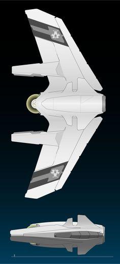 Kingblade-Class Corvette by ChroniclesofMan.deviantart.com on @DeviantArt