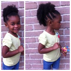 Kid Mohawk!! Natural hairstyles for kids
