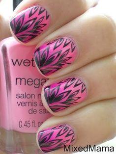 pink nail art (21)