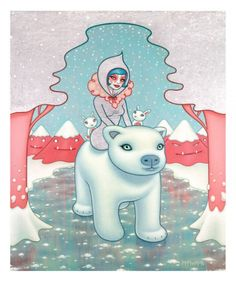 Polar Bear Girl