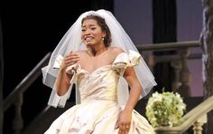 "micdotcom: ""Photos of Keke Palmer's debut as Cinderella will bring tears to your eyes "" Keke Palmer took the stage Tuesday night as the title character in Broadway's Cinderella, marking the first time..."