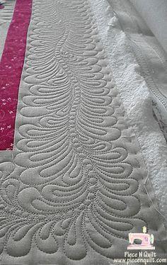 Piece N Quilt #quilt #machinequilting #piecenquilt