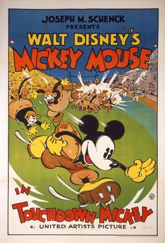 """""""Touchdown Mickey"""" (1933)"""