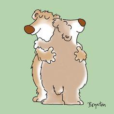 January 21 is Hugging Day. Go for it. #HuggingDay #NationalHugDay. Sandra Boynton
