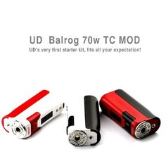 No matter what you choose, never out of date! Balrog 70TC Mod!!! https://www.facebook.com/Youdetech