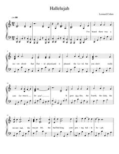 Sheet music made by NathanBM for Piano