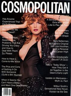 Rene Russo Cosmo  Oct 1980