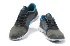 pick up e66b2 96980 comprar barato Mujer Free 3.0 V2 Contra Piel Zapatos Carbon De Madera Gris  Azul en la tienda online.