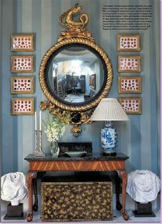 Chinoiserie Chic: The Small Chinoiserie Entryway