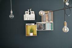 Nyanser av blått Sconces, Wall Lights, Studio, Lighting, Inspire, Inspiration, Home Decor, Design, Living Room