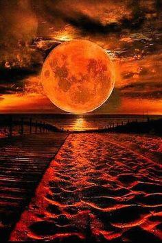 Beautiful Moon Images, Beautiful Nature Wallpaper, Beautiful Sunset, Beautiful Landscapes, Moonlight Photography, Moon Photography, Landscape Photography, Photography Ideas, Moon Pictures