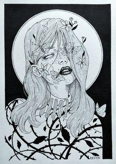 """Art by Devon """"Fleur"""""""