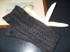 Ravelry: knocked4aloops Sea Harbor Gull Wing Fingerless