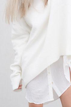 White On White #allwhite #layering #menswear