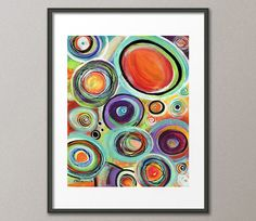 Gallery Canvas and Fine Art Prints Colorful by NYoriginalpaintings #gift #holiday #fineart #originalpainting #artist #art #redart #prints #sale #acrylic #abstract #modern #contemporary #painting #streetartist #grafitti #gallery #homedecor #wallart #pretty #largeart #visionary #zen #lifestyle #musthave #unique #etsy #circles #spheres #balls #whimsical #colorful #elenafeliciano