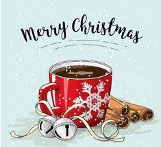 Merry Christmas- Have a good day Christmas Clipart, Noel Christmas, Christmas Printables, Christmas Pictures, Winter Christmas, All Things Christmas, Vintage Christmas, Christmas Crafts, Christmas Coffee