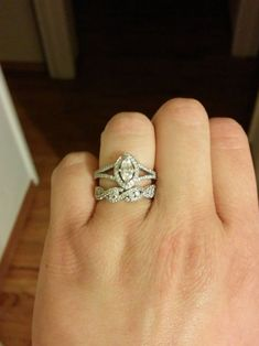 Show me your mismatched e-ring and band!! - Weddingbee | Page 12