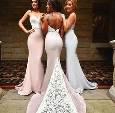 Ulass Gorgeous Off-the-shoulder Mermaid Long Navy Bridesmaid Dress/Prom Dress with Train - Thumbnail 3