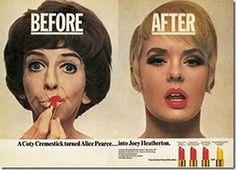 Coty Cremestick advert, 1960's