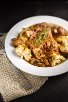 Chicken and Dumplings with Mushrooms | Things I Made Today