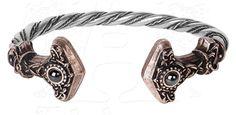Thunder Torque Bracelet by Alchemy Gothic - #infectiousthreads #goth #gothic #horrorpunk #punk #alt #alternative #psychobilly #punkrock #black #fashion #clothes #clothing #darkfashion #streetfashion