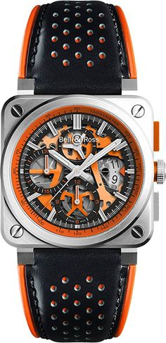 Bell & Ross Aviation BR 03-94 AERO GT ORANGE Limited Edition Men's Watch