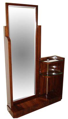 Home Interior Bohemian Asymmetrical Rosewood Standing Mirror Trendy Furniture, Art Deco Furniture, Furniture Design, Estilo Rihanna, Floor Standing Mirror, Muebles Art Deco, Dressing Table Design, Wardrobe Design Bedroom, Balcony Furniture