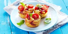 Rezept: Herzhafte Tomaten-Schinken-Muffins