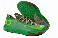 "Buy Girls Nike KD 6 ""Bamboo"" Gamma Green/Flash Lime-Raw Umber-Linen-Deep  Smoke Lastest from Reliable Girls Nike KD 6 ""Bamboo"" Gamma Green/Flash  Lime-Raw ..."