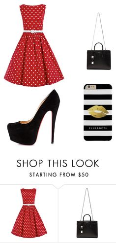 """""""Untitled #26"""" by brooke-carpenter-1 on Polyvore featuring Christian Louboutin, Yves Saint Laurent, women's clothing, women, female, woman, misses and juniors"""