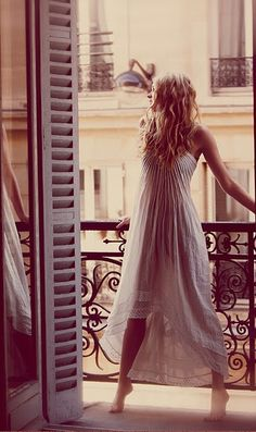 gorgeous! Free People ONE Sunburst Maxi Dress: Crinkled tiered maxi dress with ribbon spaghetti straps and raw eyelet trim throughout. $108.00 #ivory #photography #fasion