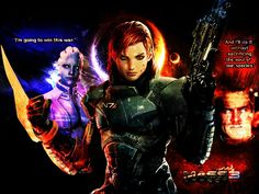 Paragon vs. Renegade Mass Effect 3 Femshep w/modified bod from my DA - suicidebyinsecticide.deviantart.com