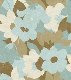 Home Decor Print Fabric-Pkaufmann Esprit Sea Glass