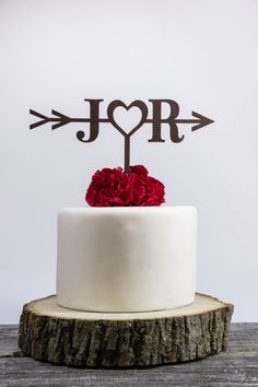 Rustic Wedding Arrow Cake Topper,Custom Cake Topper,Bridal Shower Cake Topper,Cake Toppers for Weddings,Rustic Wedding Cake Topper made for you by the Charlie Team in our Pacific Northwest studio ***PLEASE READ THE ENTIRE LISTING FOR INFORMATION WE NEED FROM YOU, PRODUCT INFORMATION, AND DELIVERY TIMES***  PRODUCTION & SHIPPING TIME: This product ships 14 days after purchase UNLESS you upgrade to a RUSH order. If you purchase a RUSH order, it will ship out within 2 days, but keep in mind ...