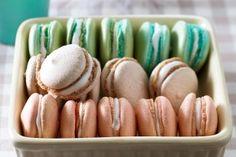Macarons mit Vanilleganache Rezept