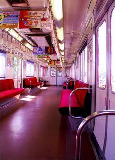Japanese Train interior