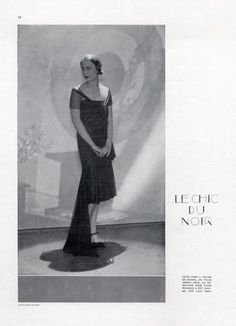 Chanel 1929, Evening Gown for Lady Abdy, Photo by George Hoyningen-Huene