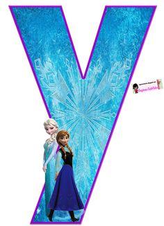 Frozen: Free Elsa and Ana Alphabet. Frozen: Bello Alfabeto Gratis de Elsa y Ana. Frozen Birthday Party, Sofia The First Birthday Party, Frozen Theme Party, Diy Crafts For 5 Year Olds, Frozen Elsa And Anna, Frozen 1, Frozen Free, Kids Cartoon Characters, Freeze