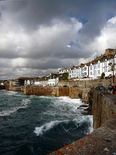 Porthleven, Cornwall by Cornishcarolin