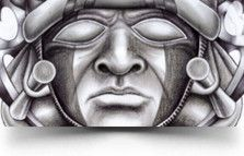 1000 images about aztec tattoo ideas on pinterest god tattoos warrior tattoos and mask tattoo. Black Bedroom Furniture Sets. Home Design Ideas