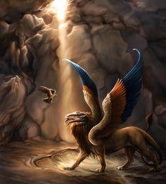 Esfinge (del griego Σφίγξ) es el nombre helenizado de un ser fabuloso que se suele representar, generalmente, como un león recostado con cabeza humana. Las esfinges fueron ideadas por los antiguos egipcios y formaban parte de su compleja mitología; también tuvieron relevancia cultural en la mitología de los antiguos griegos.  Las esfinges eran símbolo de la realeza, ya que representaban la fuerza y el poder del león, y la vida después de la muerte, motivo por el que aparecen en muchas…